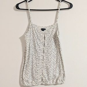 American Eagle Blue and White Star Camisole